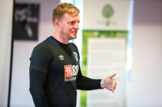 Holt Heath Teaching Alliance annual conference at AFC Bournemouth's Vitality Stadium. AFC Bournemouth manager Eddie Howe.