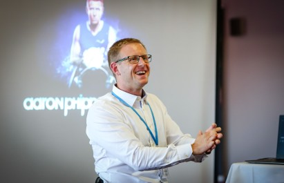 Holt Heath Teaching Alliance annual conference at AFC Bournemouth's Vitality Stadium. Guest speaker paralympian Aaron Phipps.