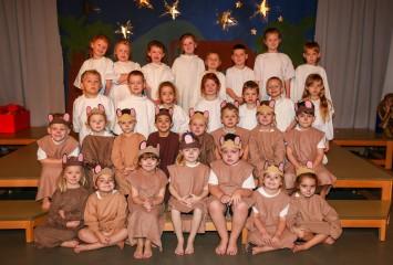Three Legged Cross First School nativity 2019.